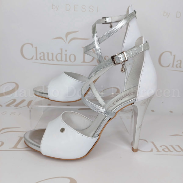 Claudio Dessi 6479E fehér szanda