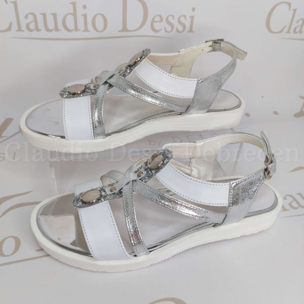 Lux by Dessi 3337 ezüst szanda