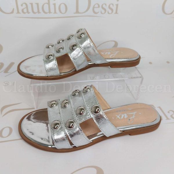 Lux by Dessi 045 ezüst papucs