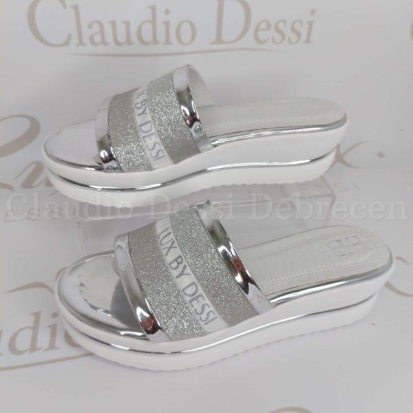 Lux by Dessi W-459 ezüst papucs