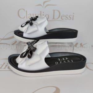 Lux by Dessi 4403-8 fehér papucs
