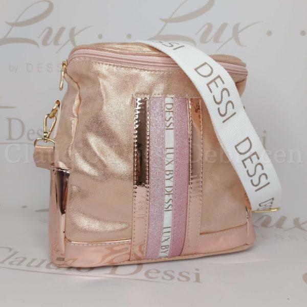 Lux by Dessi 519 rosegold oldaltáska