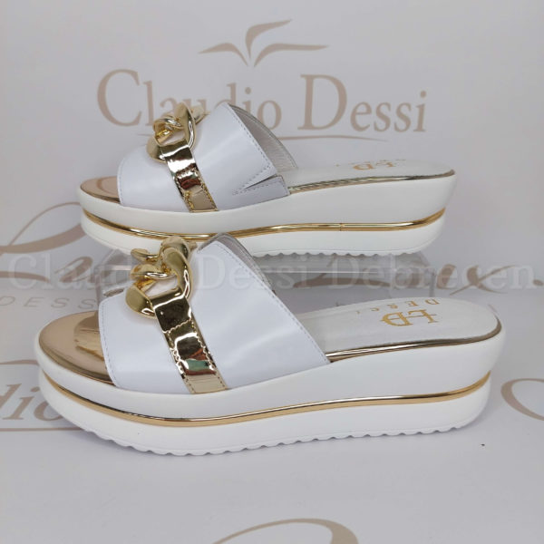 Lux by Dessi 8389 fehér papucs
