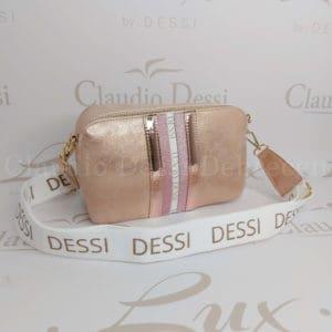 Lux by Dessi 546P rosegold oldaltáska