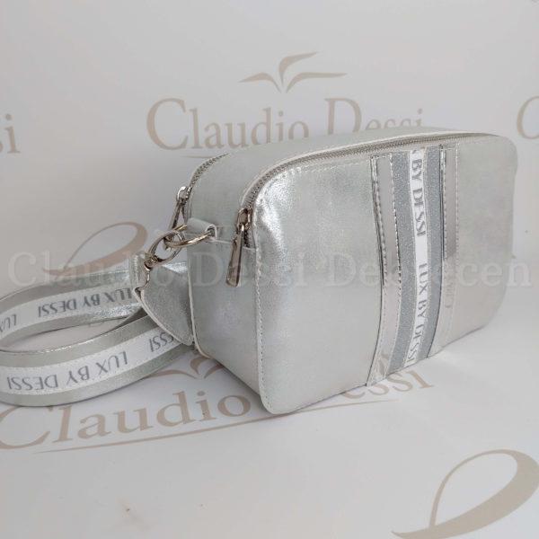 Lux by Dessi 546 ezüst oldaltáska