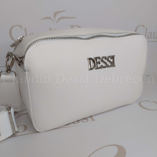 Lux by Dessi 546E fehér oldaltáska