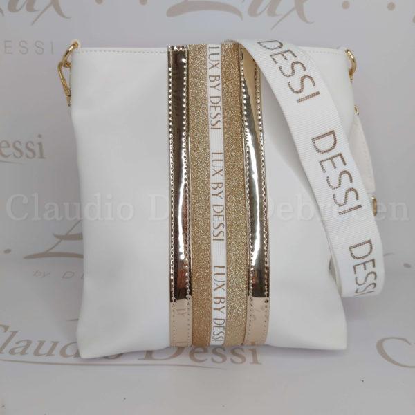 Lux by Dessi 59A fehér oldaltáska