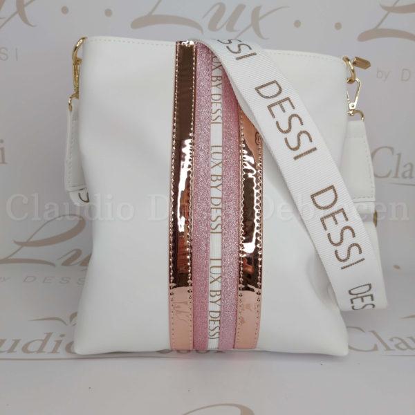 Lux by Dessi 59P fehér oldaltáska