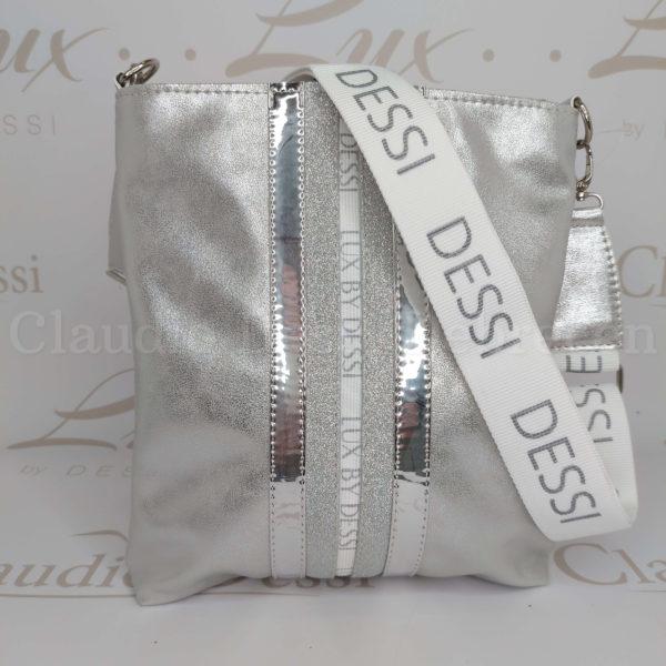 Lux by Dessi 59E ezüst oldaltáska