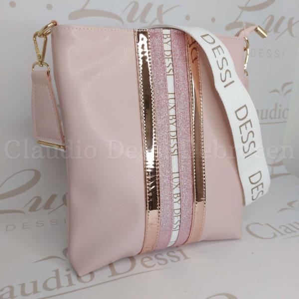 Lux by Dessi 59P rózsaszín oldaltáska