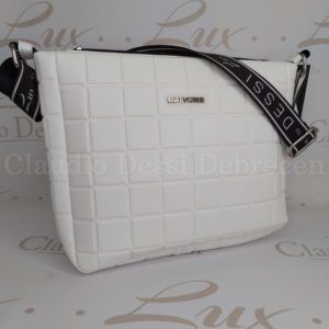 Lux by Dessi 657 fehér oldaltáska