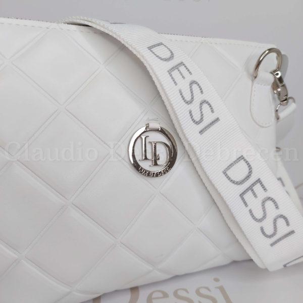 Lux by Dessi 541E fehér oldaltáska