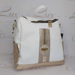 Lux by Dessi 588A fehér hátitáska
