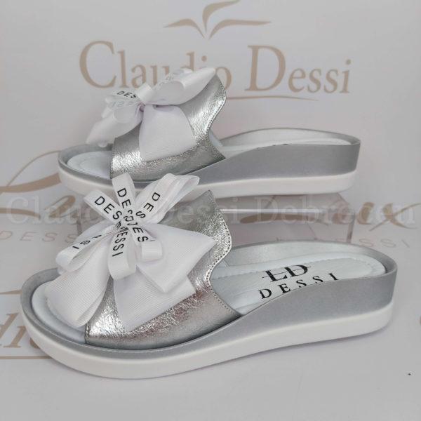 Lux by Dessi 4403-8 ezüst papucs