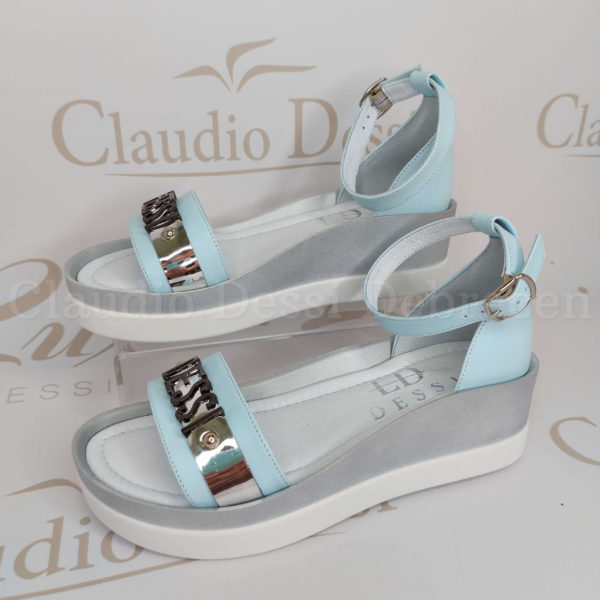 Lux by Dessi 1309-7 kék szanda