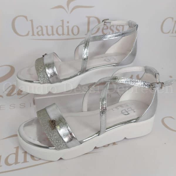 Lux by Dessi 8316 ezüst szanda