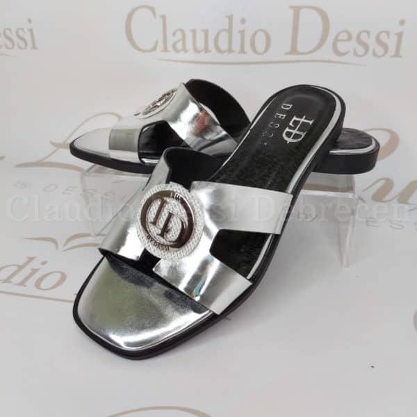 Lux by Dessi 8409 ezüst papucs