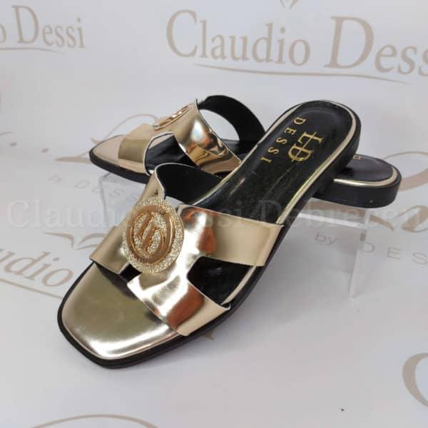 Lux by Dessi 8409U arany papucs