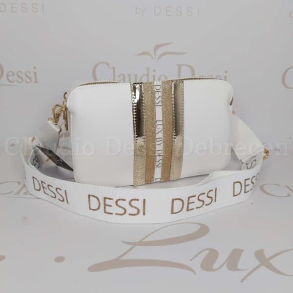 Lux by Dessi 546A fehér oldaltáska