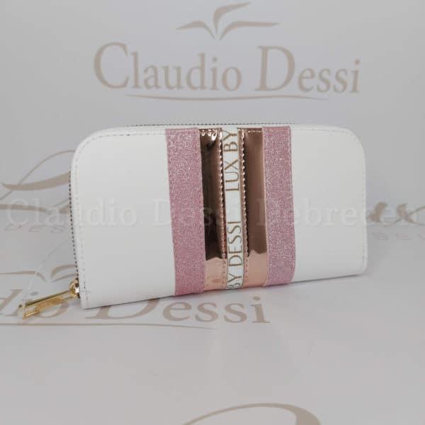 Lux By Dessi P-1 fehérR pénztárca