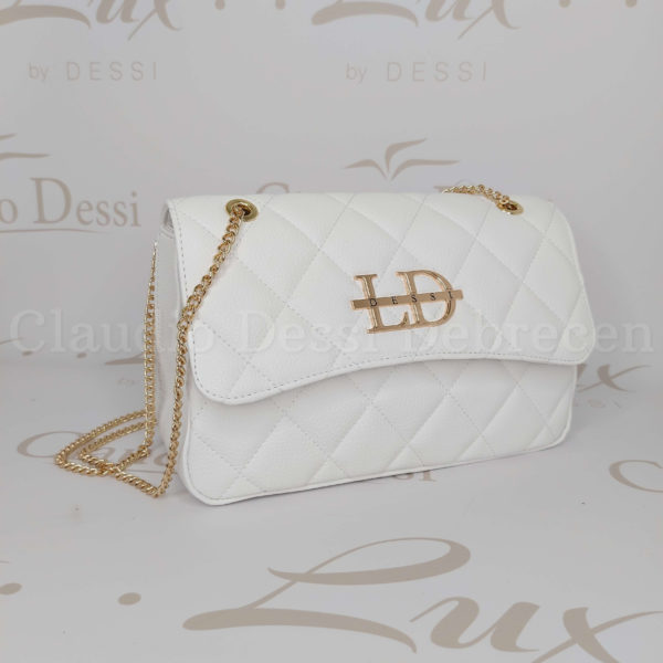 Lux by Dessi 664 fehérA oldaltáska