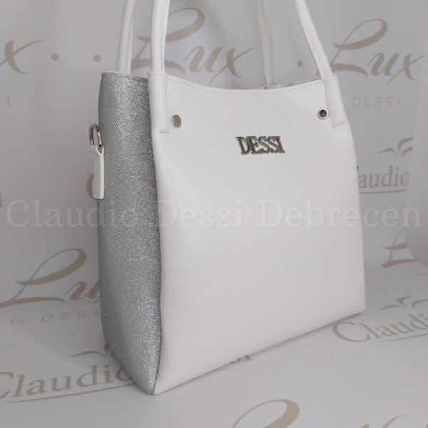 Lux by Dessi 436 fehér válltáska