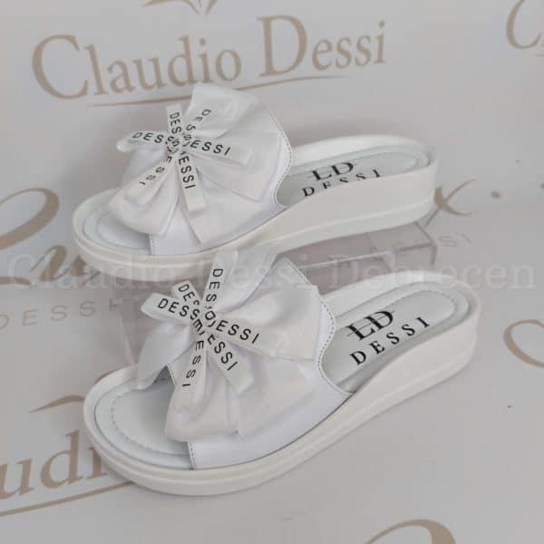 Lux by Dessi 4403-8F fehér papucs