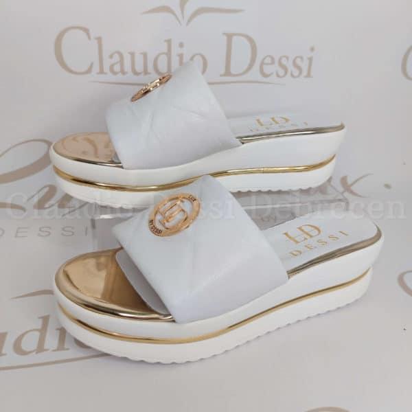 Lux by Dessi 105A fehér papucs