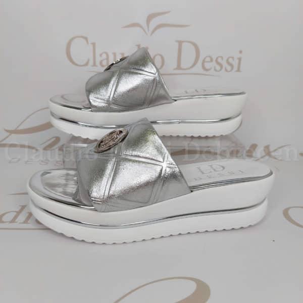 Lux by Dessi 105 ezüst papucs