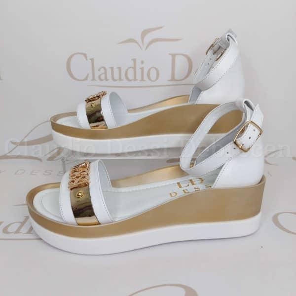 Lux by Dessi 1309-7A fehér szanda