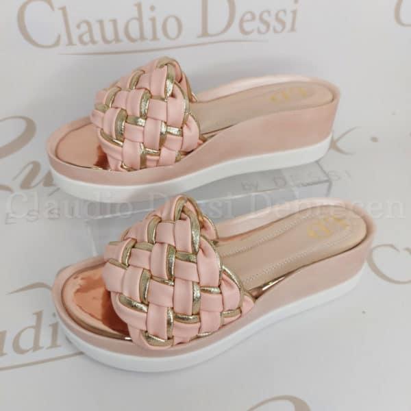 Lux by Dessi W-456 rózsaszín papucs