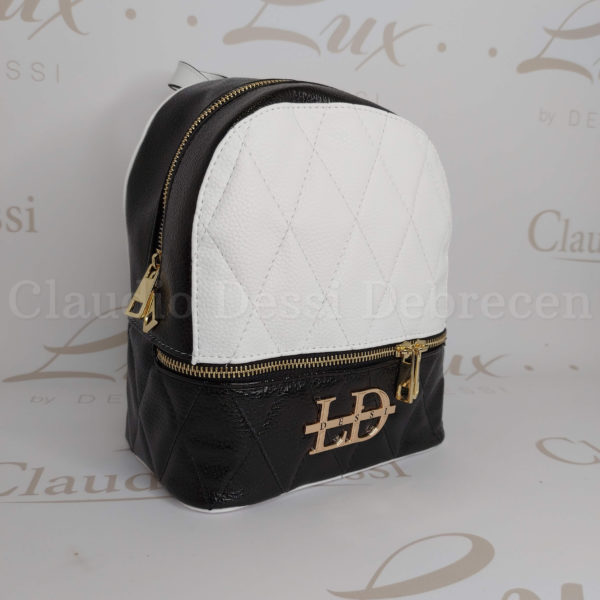 Lux by Dessi 514 fekete-fehér hátitáska