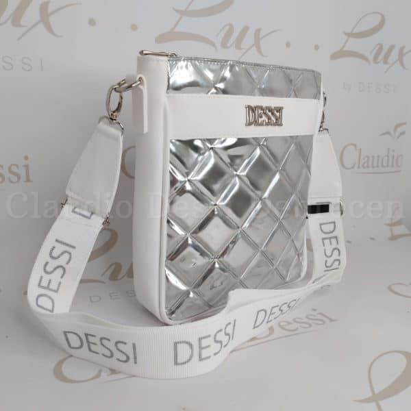 Lux by Dessi 529/2 ezüst oldaltáska