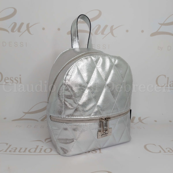 Lux by Dessi 514 ezüst hátitáska