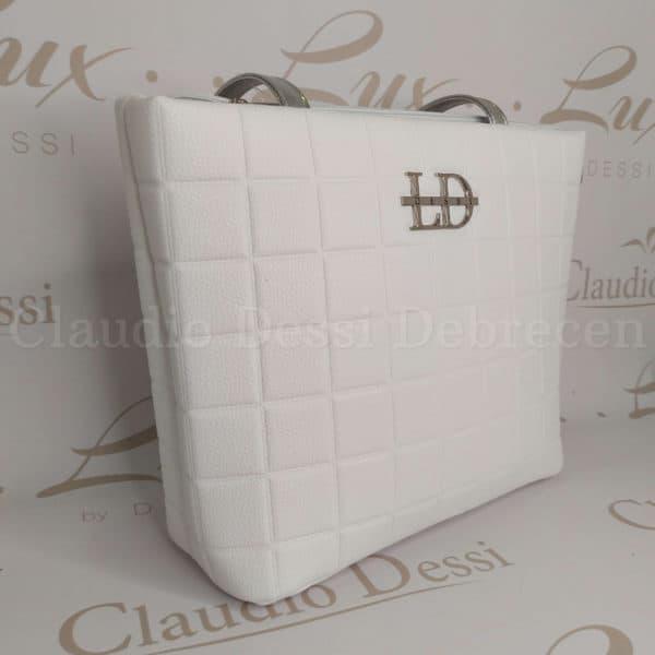 Lux by Dessi 665 fehér válltáska