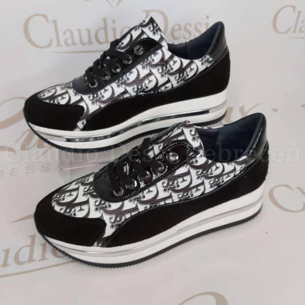 Lux by Dessi 0694-17/sz fekete sneaker