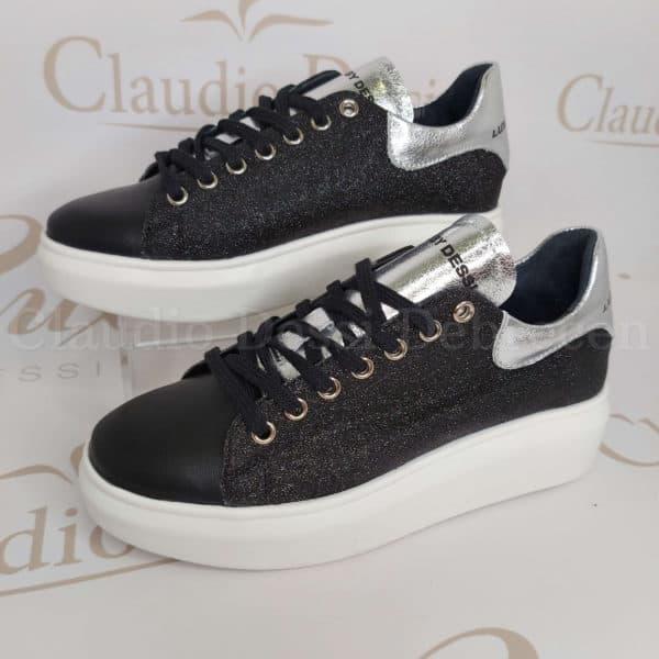 Lux by Dessi BenitaLD-1 fekete sneaker