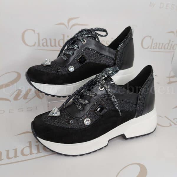 Lux by Dessi w-514 fekete sneaker