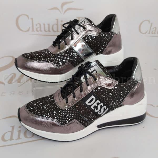 Lux by Dessi 737/1 ezüst sneaker