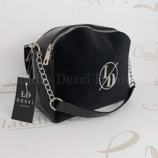 Lux by Dessi 566/1/E fekete oldaltáska