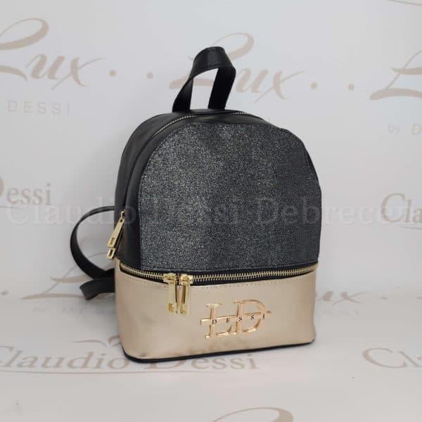 Lux by Dessi 514 ezüst-arany hátitáska