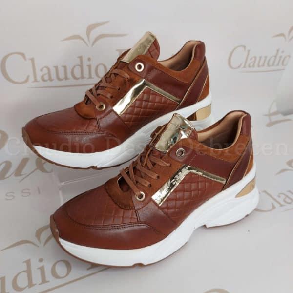 Lux by Dessi 0093-48 barna sneaker