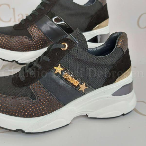 Lux by Dessi 0093-50 feketeA sneaker