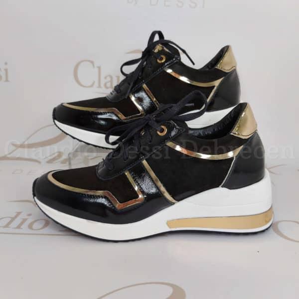 Lux by Dessi 738/1 feketeA sneaker