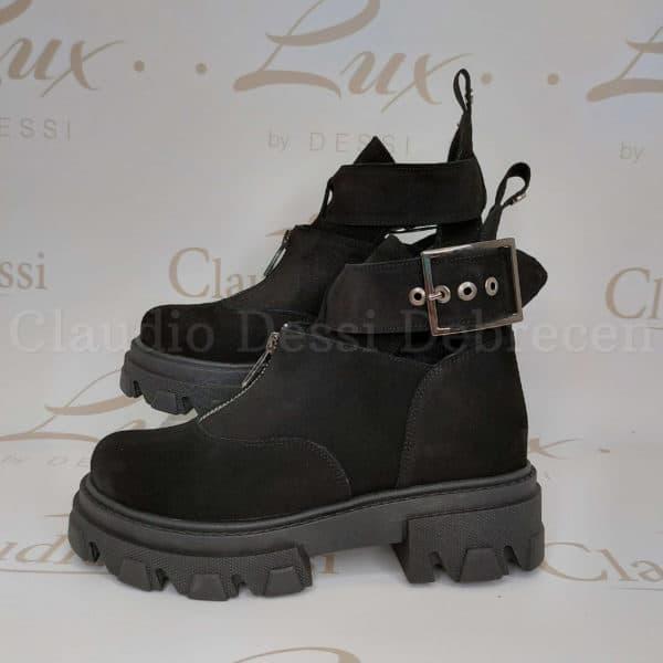 Lux by Dessi W-459 fekete bakancs