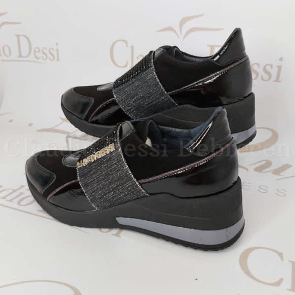Lux by Dessi 0093-35 fekete slipon