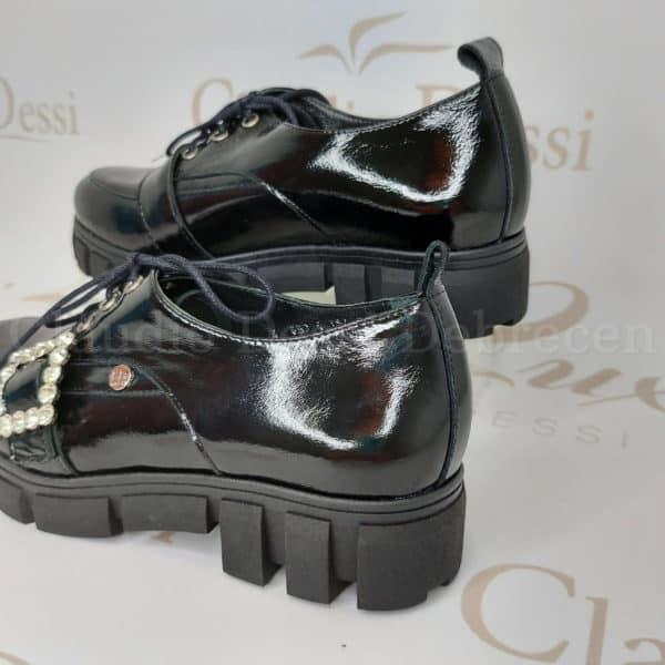 Lux by Dessi C-1655 fekete lakk cipő