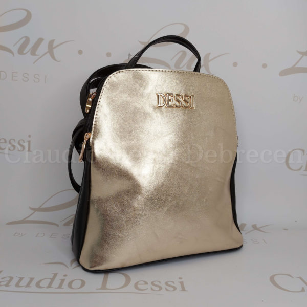 Lux by Dessi 523 arany hátitáska