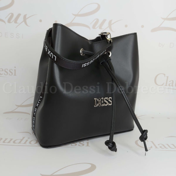 Lux by Dessi 517 fekete kézitáska