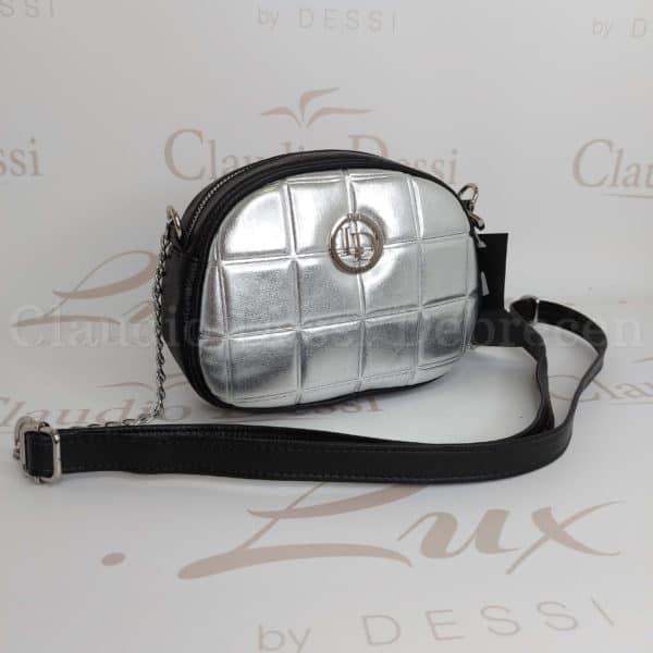 Lux by Dessi 658 ezüst oldaltáska